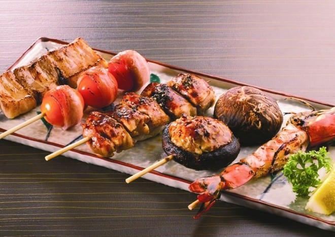 Mixed Kushiyaki Platter