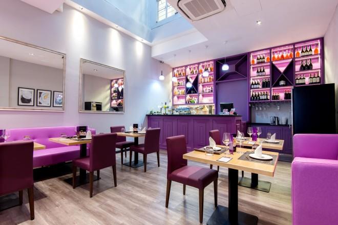 Violet Herbs - Main Dining Floor - 28 seats