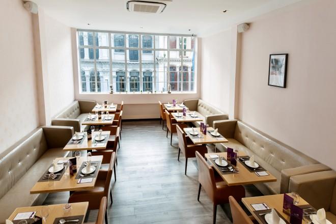 Violet Herbs - Second floor dining area (28 seats)