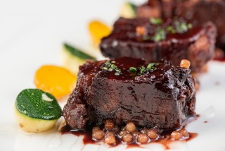 Violet Herbs - Sous Vide 48 Hours Wagyu Beef Cheek