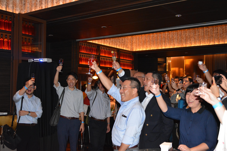 KANPAI 2018、約150人が日本酒の...